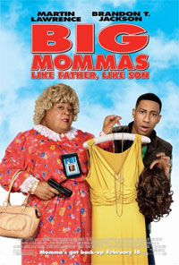 'Big Mommas' movie poster